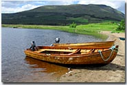Boats on Loch Ailsh