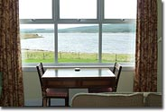 Drawing Room, view over Loch Ailsh